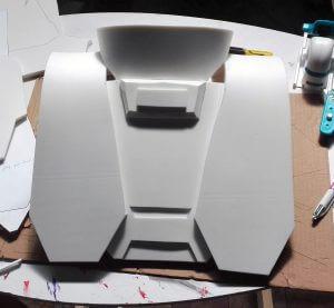 Réalisation d'un costume de Halo en mousse EVA 125 kg en 10mm d'épaisseur