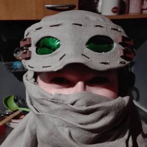 Film coloré vert pour réaliser les lunettes de Rey (Star Wars)