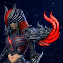 Exemple de réalisation - Red Vengeance Nemesis (Smite)